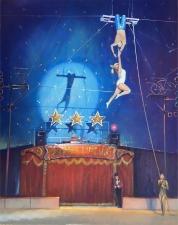 Ariel Adagio, Zippos Circus  -  20x16