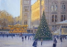 Christmas, Natural History Museum  -  7x10