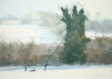 Winter, Chipstead  -  7x10