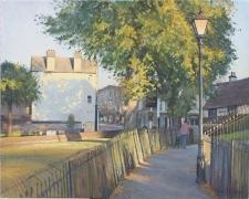 Church walk, Carshalton  -  16x20