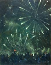 Firework finale, Carshalton  -  7x6