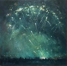 Fireworks, Carshalton Park  -  7x7