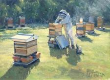 The Beekeeper  -  6x8