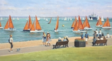 Cowes Week, Isle of Wight  -  13x24