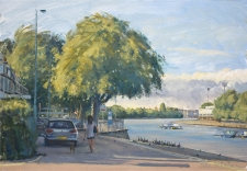 Afternoon at Putney  -  10x14
