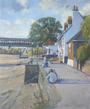 The Bull Inn Strand on the Green  -  12x10