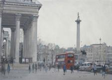 Trafalgar Square, London  -  10x14